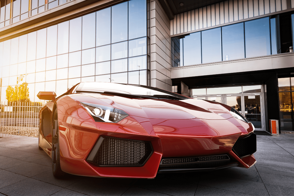 luxury car rental - featured image - stylish sports car article